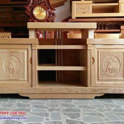 Kệ tivi gỗ Sồi 1m6 mẫu KTVS471 giá sỉ