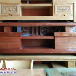Kệ tivi gỗ Xoan 1m8 mẫu KTVX501 giá sỉ