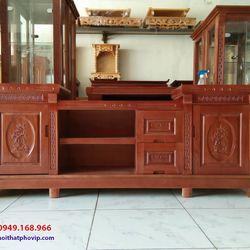 Kệ tivi gỗ Xoan 1m8 mẫu KTVX581 giá sỉ