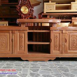 Kệ tivi gỗ Đinh Hương 2m mẫu KTVH439 giá sỉ