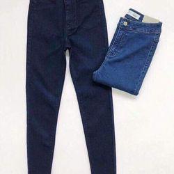 jean lưng cao ko túi trước