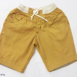 Quần kaki lửng rút dây màu vàng size 1-6 giá sỉ