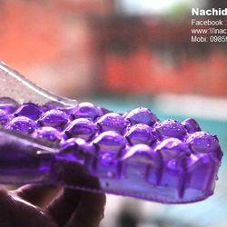 Dép massage chân đi trong nhà màu Tím Nachidu - MT9 giá sỉ