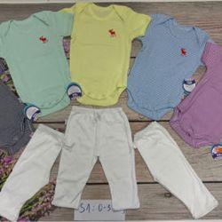 body suit tay ngắn tay dài kèm quần dài s1-3 sơ sinh-12kg giá sỉ