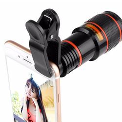 Bộ Ống Kính Telescope ZOOM 12X CHO smartphone taplet giá sỉ, giá bán buôn