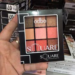 Phấn mắt Odbo Square 9 ô Aut giá sỉ