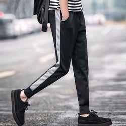 quần jogger thun 1 sọc