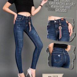 Quần jean nữ có size đại giá sỉ