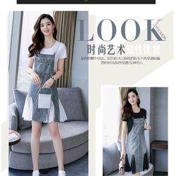 Đầm Jean Phoi Xinh Xan giá sỉ