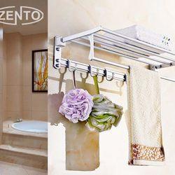 kệ treo khăn và vật dụng nhà tắm có móc treo giá sỉ