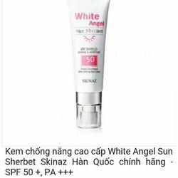 Kem Chống Nắng White Angel Sun SherbetSkinaz SPF 50 PA - Hàn Quốc giá sỉ