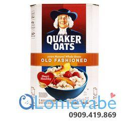 Hạt yến mạch ăn liền nguyên chất Quaker Oats Old Fashioned 452kg giá sỉ