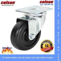Bánh xe xoay chịu nhiệt Colson Mỹ 230 độ C phi 100 x 32 tải trọng 136kg giá sỉ