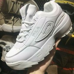 Giày Sneaker Fila Disruptor 2 white giá sỉ