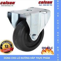 Bánh xe đẩy chịu nhiệt Colson Mỹ 230 độ C phi 100 x 32 chịu lực giá sỉ