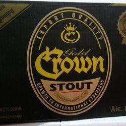 bia CROWN đen 8 độ cồn Cambodia giá sỉ