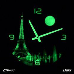 Đồng hồ treo tường Tranh dạ quang giá sỉ