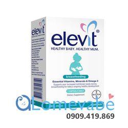 Elevit Breastfeeding – Elevit sau khi sinh – Elevit cho con bú 60 viên giá sỉ