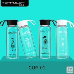 Bình đựng nước thuỷ tinh Konfulon CUP-01 giá sỉ