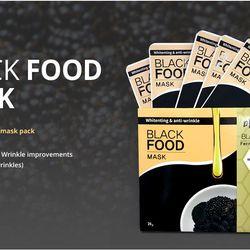 Mặt nạ dưỡng trắng da Black Food giá sỉ