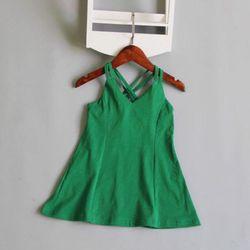 Đầm 2 dây cho bé gái giá sỉ, giá bán buôn