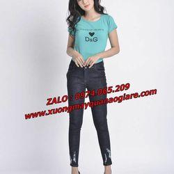 xưởng sỉ quần jean nữ giá rẻ Tân Bình giá sỉ