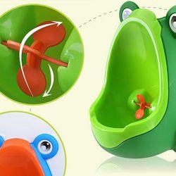 Bệ tiểu mini gắn tường cho bé trai hình chú ếch giá sỉ