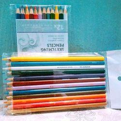 12 cây bút chì màu
