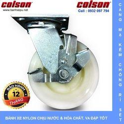 Bánh xe đẩy Nylon có khóa SP Colson phi 125 x 51 chịu tải giá sỉ