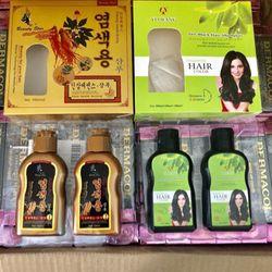 Bộ dầu gội đen tóc Nhân sâm Hàn Quốc giá sỉ