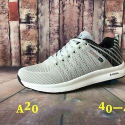 Giày thể thao nam A20 xám đen giá sỉ