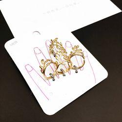 Sét nhẫn nữ chiếc lá AN5713 giá sỉ