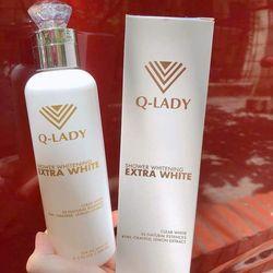 SỮA TẮM TRUYỀN TRẮNG Q-LADY Extra White Shower Hàng Chính Hãng giá sỉ