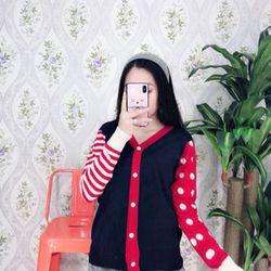 Áo khoác len Quảng Châu 95k TB0806 giá sỉ
