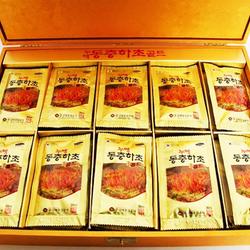 Nước đông trùng hạ thảo hôp gỗ vàng Hàn Quốc giá sỉ
