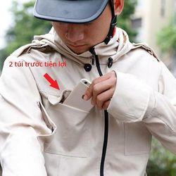 Áo chống nắng nam vải thô giá sỉ, giá bán buôn