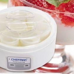 Máy Làm Sữa Chua Chefman 8 Hũ Thuỷ Tinh CM02T giá sỉ