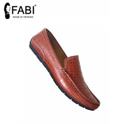 Giày lười da bò vân cá sấu GM10 giá sỉ