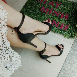 Sandal cao gót 11p đế đúp giá sỉ