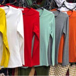 Áo thun tay dài giá sỉ, giá bán buôn
