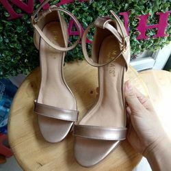 Sandal cao gót ánh đồng 9 cm giá sỉ