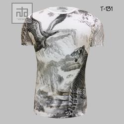 Áo thun nam in hình 3D T131 giá sỉ