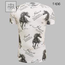 Áo thun nam in hình 3D T106 giá sỉ