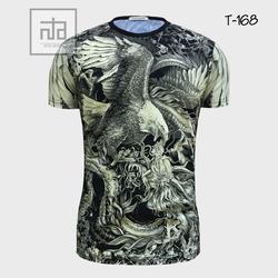Áo thun nam in hình 3D T168 giá sỉ