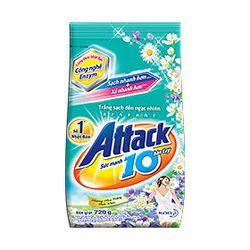 Bột giặt Attack hương Hoa nắng tinh khôi