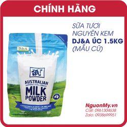 Sữa tươi nguyên kem dạng bột DJA của Úc 1kg
