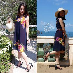 Đầm suông Chiffon từ 55 kg đến 90 kg giá sỉ