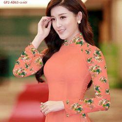 Vải áo dài thiết kế - AD-063-10 giá sỉ