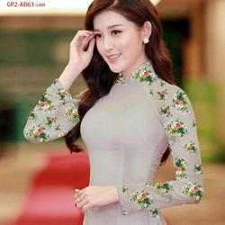 Vải áo dài thiết kế - AD-063-12 giá sỉ