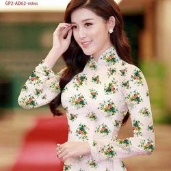 Vải áo dài thiết kế - AD-062-5 giá sỉ